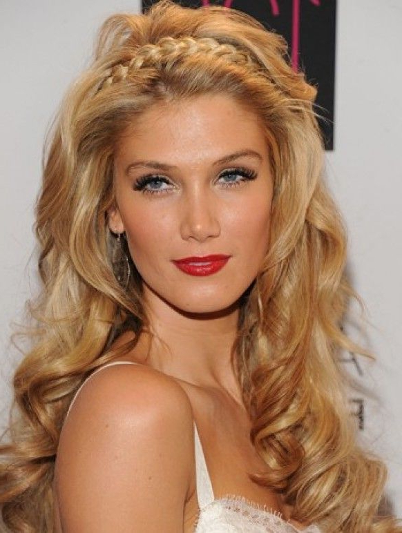 Hairstyles – The Wedding Blogspot Intended For Most Recently Headband Braid Hairstyles With Long Waves (View 17 of 25)