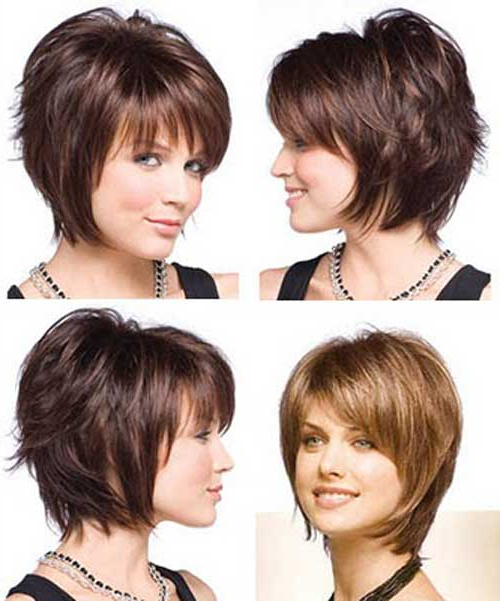 Hairstyles: Very Short Bob Hairstyles For Thick Hair Inside A Very Short Layered Bob Hairstyles (View 9 of 25)