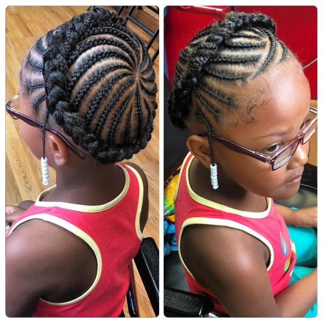 Halo Braid For Angels | Natural Hairstyles For Kids, Natural Within Newest Braided Halo Hairstyles (View 5 of 25)
