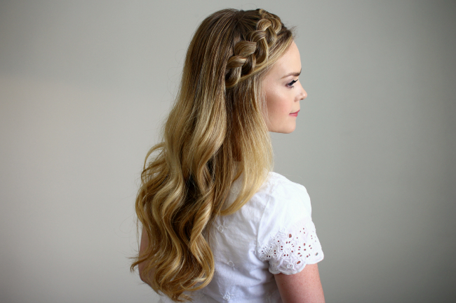 Headband Braid – Style Like Pro With Most Recent Headband Braid Hairstyles With Long Waves (View 7 of 25)