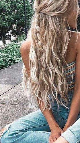 Headband Trend – How To Style It   Hair Styles, Hair, Long Throughout Best And Newest Headband Braid Hairstyles With Long Waves (View 10 of 25)