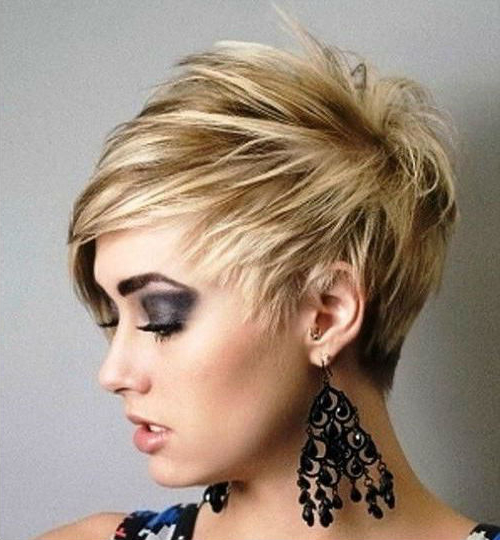 Hot And Trendy Short Layered Pixie Haircuts 2019 To Consider With Most Recently Short Layered Pixie Haircuts (View 10 of 25)