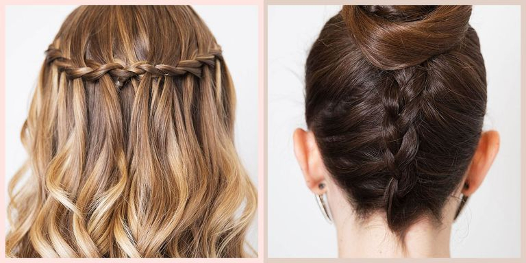 How To Braid: 17 Easy Braid Tutorials For Beginners In 2020 Intended For Most Recently Loosely Tied Braid Hairstyles With A Ribbon (View 25 of 25)