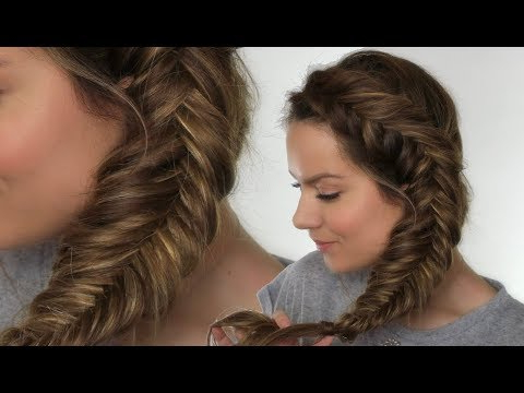 How To Fishtail Braid Your Hair – The Trend Spotter With Latest Fishtail Side Braid Hairstyles (View 8 of 25)