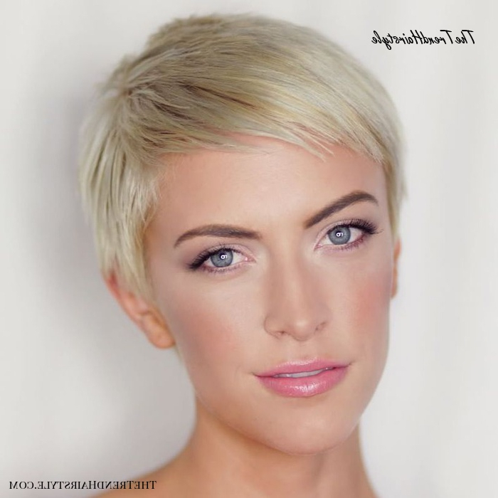 Icy Short Pixie Cut – 60 Cute Short Pixie Haircuts Within Most Recently Blonde Pixie Haircuts (View 21 of 25)