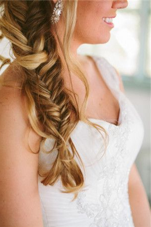 If It's Really Hot Out This Loose Fishtail Is Fine Instead Inside Latest Loose Spiral Braid Hairstyles (View 17 of 25)