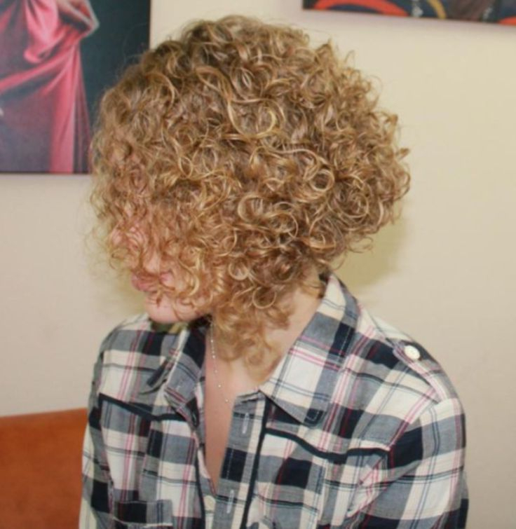 Image Result For Stacked Spiral Perm On Short Hair | Short Within Permed Bob Hairstyles (View 16 of 25)