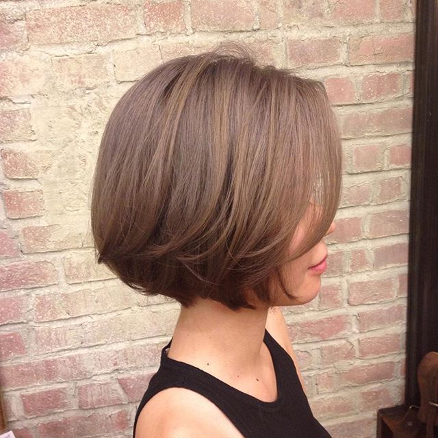 Jaw-Length Hair Style At Number76 Bangsar | Chin Length Hair with regard to Jaw Length Short Bob Hairstyles For Fine Hair