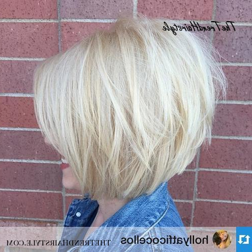 Jaw Length Shaggy Haircut With Side Bangs – 70 Fabulous Inside Layered And Textured Bob Hairstyles (View 17 of 25)
