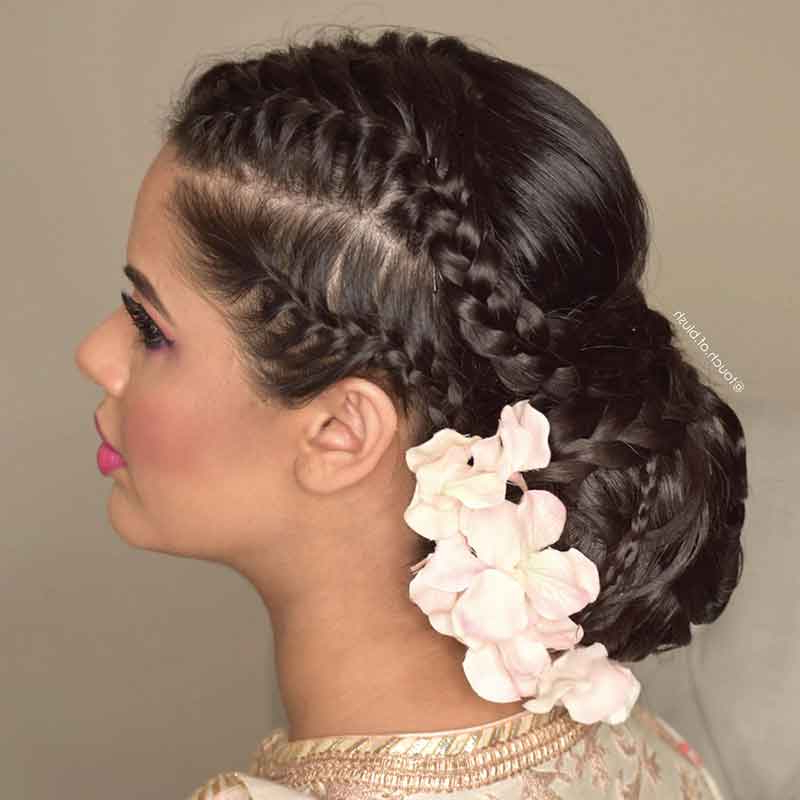 Latest In: The Trendiest Bridal Hairstyles You Need To Try In Newest Crisp Pulled Back Braid Hairstyles (View 17 of 25)