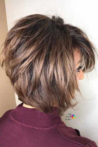 Latest Layered Bob Hairstyles Gallery For Women  Elegance With Regard To Rounded Sleek Bob Hairstyles With Minimal Layers (View 10 of 25)