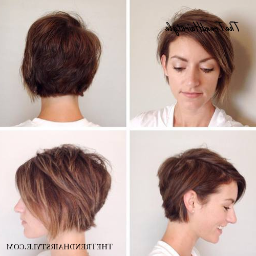 Layered Long Pixie Cut – 60 Gorgeous Long Pixie Hairstyles Intended For Part Pixie Part Bob Hairstyles (View 8 of 25)