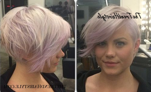 Layered Long Pixie Cut – 60 Gorgeous Long Pixie Hairstyles Regarding Latest Flipped Up Platinum Blonde Pixie Haircuts (View 25 of 25)