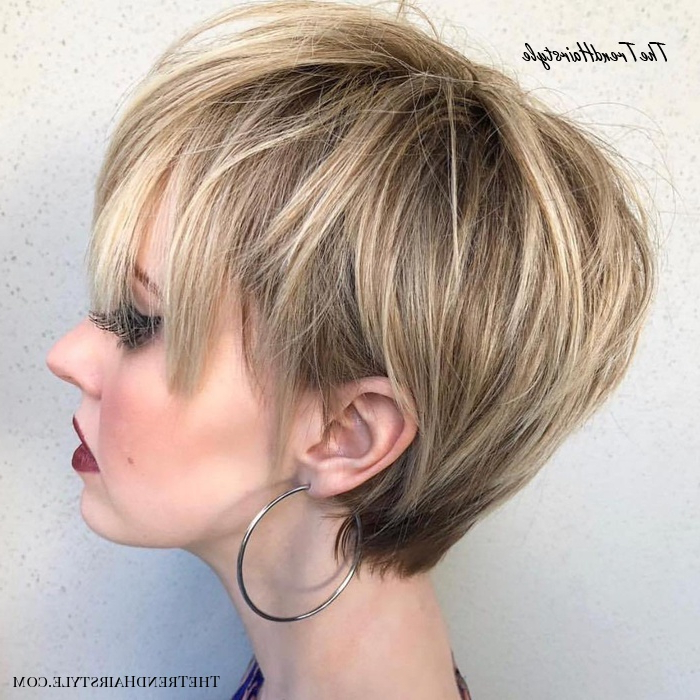 Layered Long Pixie Cut – 60 Gorgeous Long Pixie Hairstyles With Short Choppy Layers Pixie Bob Hairstyles (View 23 of 25)