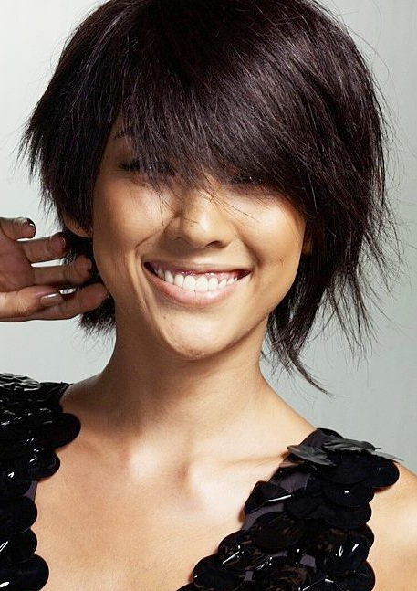 Lee Hyori Short Layered Choppy Hairstyle For Women With Fine With Most Recent Piecey Pixie Haircuts For Asian Women (View 7 of 25)