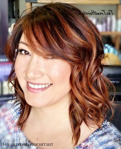 Light Jagged Bangs – 40 Refreshing Variations Of Bangs For Pertaining To Jagged Bob Hairstyles For Round Faces (View 10 of 25)