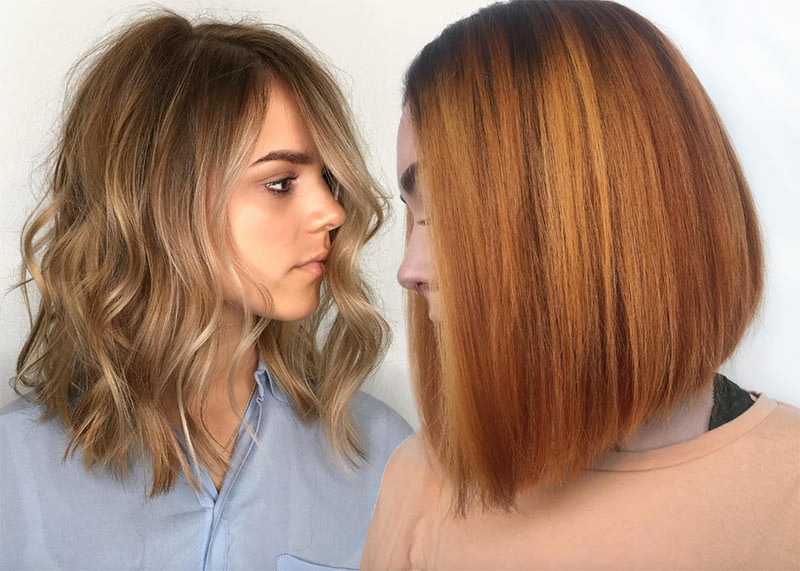 Lob Haircut Trend: 63 On Trend Long Bob Haircuts Pertaining To Ombre Piecey Bob Hairstyles (View 22 of 25)