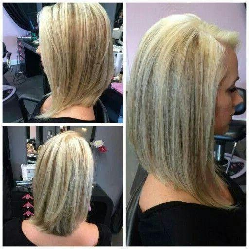Long A Line | Hair Styles, Long Angled Bob Hairstyles Regarding A Line Bob Hairstyles (View 16 of 25)