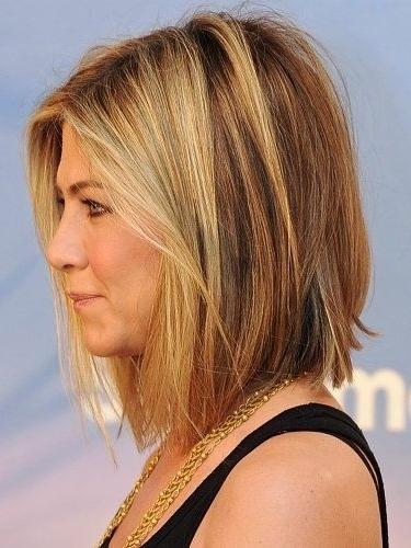 Long Bob Hairstyles Jennifer Aniston | Hairstyles Within Short To Long Bob Hairstyles (View 7 of 25)