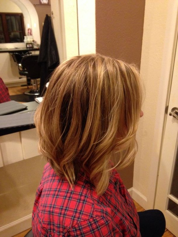 Long Inverted Bob With Subtle Layers (View 7 of 25)