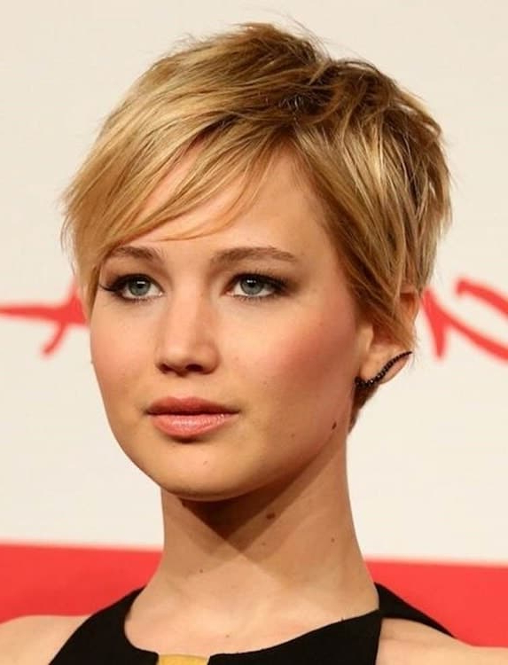 Long Pixie Haircuts For Round Faces – On Haircuts Pertaining To Most Popular Pixie Haircuts For Round Face (View 19 of 25)