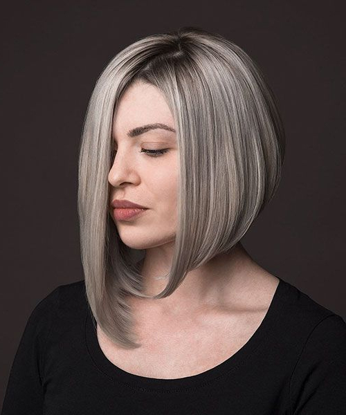 Look Classy With These Exceptional Asymmetrical Bob Inside Asymmetrical Bob Hairstyles (View 6 of 25)
