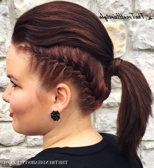 Loosely Braided Style – 30 Fantastic French Braid Ponytails For 2020 Grecian Inspired Ponytail Braid Hairstyles (View 13 of 25)