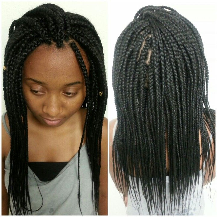 Medium Sized Braids | Hair Styles, Box Braids Pictures Within Most Up To Date Medium Sized Braids Hairstyles (View 2 of 25)