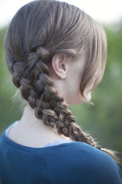 Mermaid Tail Braid | Braided Hairstyles, Hair Styles Within Most Current Three Strand Side Braid Hairstyles (View 6 of 25)