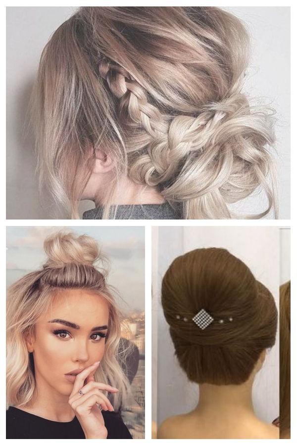 Messy Updo Hairstyles,crown Braid Hairstyle To Try ,boho Within 2020 Messy Crown Braid Hairstyles (View 16 of 25)