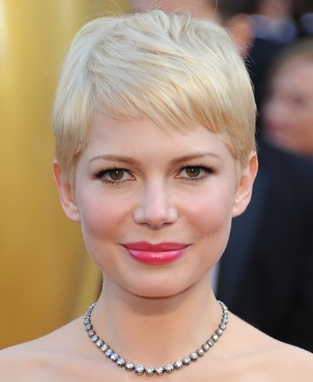 Michelle Williams Cute Pixie Haircuts – Popular Haircuts With Most Recently Michelle Williams Pixie Haircuts (View 20 of 25)