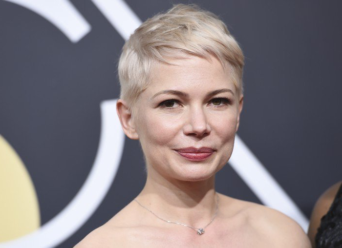 Michelle Williams Pixie Golden Globes 2018 | Michelle For Recent Michelle Williams Pixie Haircuts (View 6 of 25)