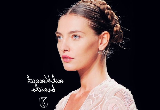 Milkmaid Braids / Crown Braids Hairstyles Throughout Best And Newest Milkmaid Crown Braids Hairstyles (View 8 of 25)