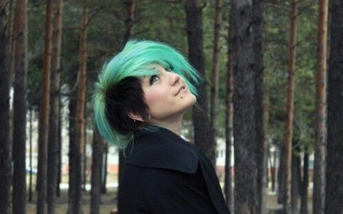 Mint Green Long Undercut Love This Loads!!! In 2019 For Latest Aqua Green Undercut Hairstyles (View 13 of 25)