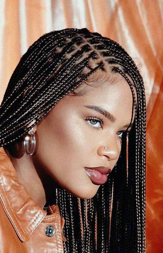 More Than 100 Braided Hairstyles To Try Today – Hair Theme For 2020 Cornrow Accent Braids Hairstyles (View 21 of 25)