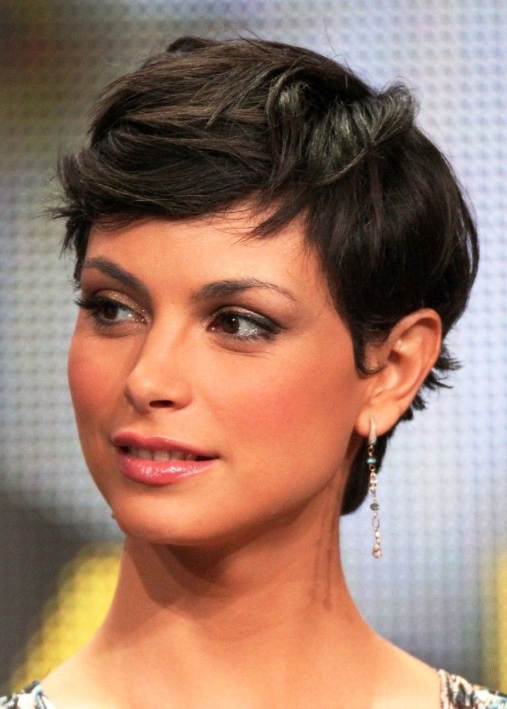 Morena Baccarin Short Hair – Google Search | Pixie Haircut Throughout Most Recently Morena Pixie Haircuts With Bangs (View 2 of 25)