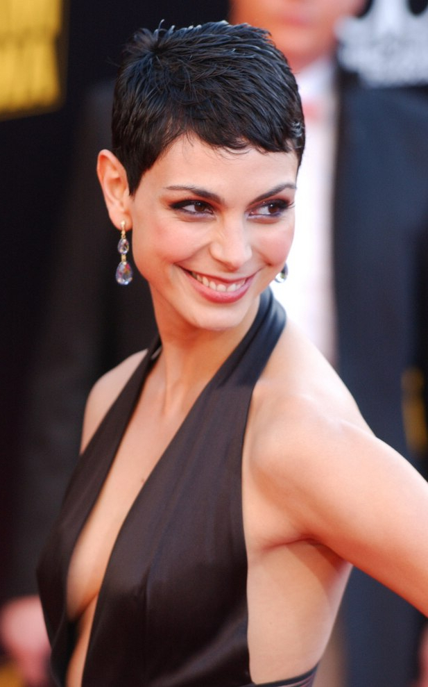 Morena Baccarin | Shorter Pixie Hairstyle For A Heart Shaped For Most Current Morena Pixie Haircuts With Bangs (View 25 of 25)