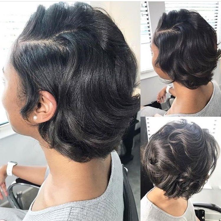 Natural Hair/silk Wrap Styles   Natural Hair Silk, Short within Natural Bob Hairstyles