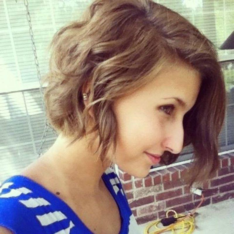 Natural Wavy Hair With Short Wavy Bob Hairstyles - Women pertaining to Sassy Wavy Bob Hairstyles