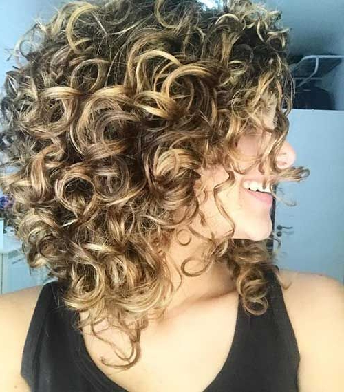 Naturally Curly Hairstyles And Bob Haircuts | Medium Hair With Regard To Naturally Curly Bob Hairstyles (View 15 of 25)