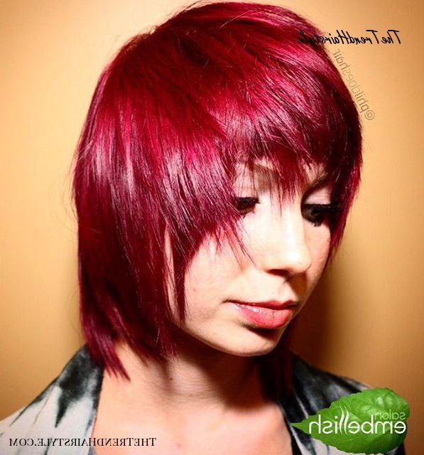 New Pageboy Style - 20 Stylish Ideas For A Pageboy Haircut regarding Latest Pageboy Maroon Red Pixie Haircuts