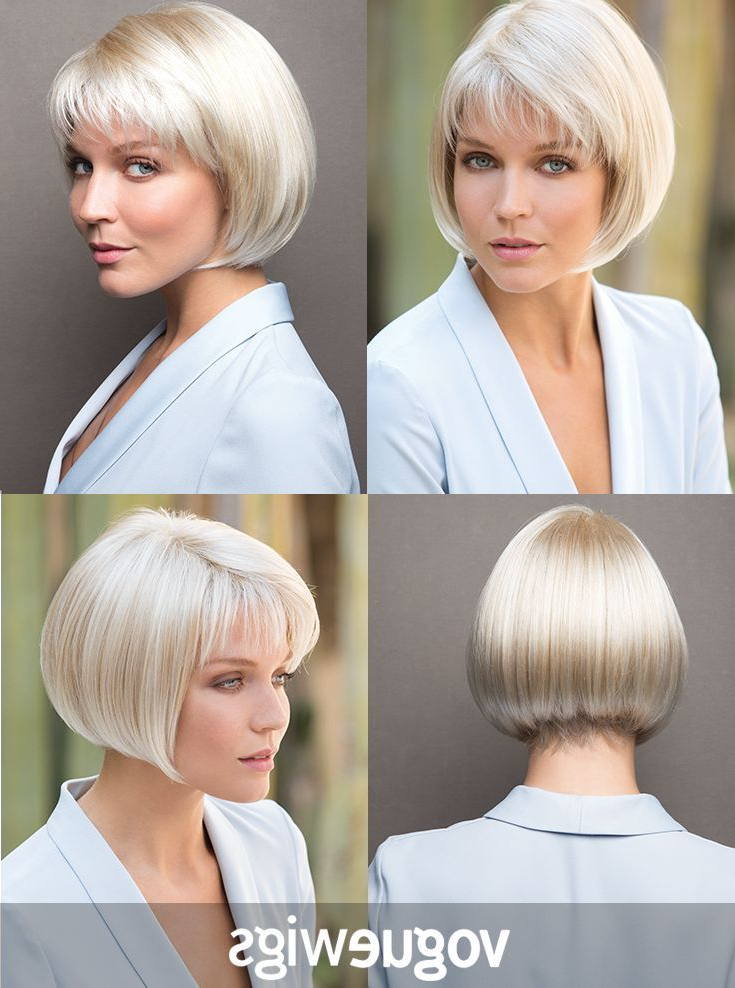 Noriko Cory Synthetic Wig, Light-Chocolate | Bob Hairstyles intended for Textured Classic Bob Hairstyles