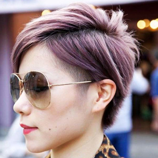 Pastel Colored Pixie Cuts That Prove Fairy Hair Is Better Regarding 2018 Smokey Pastel Colors Pixie Haircuts (View 8 of 25)