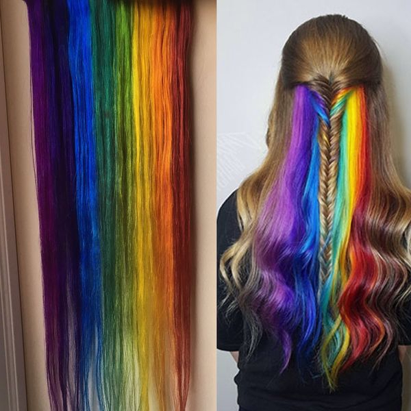 Peekaboo Hair Color Ideas, Peek-A-Boo Highlights (Trending pertaining to Most Recently Peek-A-Boo Braid Hairstyles