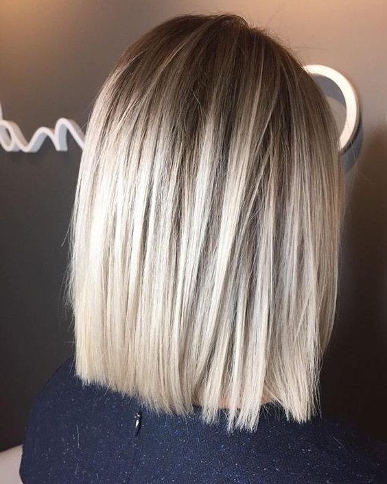 Perfect A Shadow Root!! Balayageombre® (@balayageombre) On within Most Recent Long Undercut Hairstyles With Shadow Root