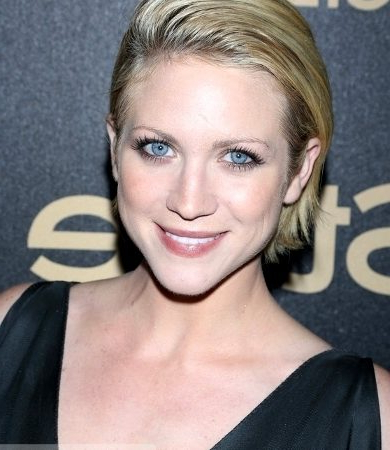 Pictures : Brittany Snow Hairstyles - Brittany Snow Slicked within Slicked Bob Hairstyles