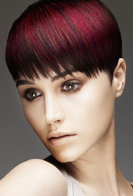 Pictures Of Hairstyles For Short Hair | Hair | Hair Color pertaining to Current Pageboy Maroon Red Pixie Haircuts
