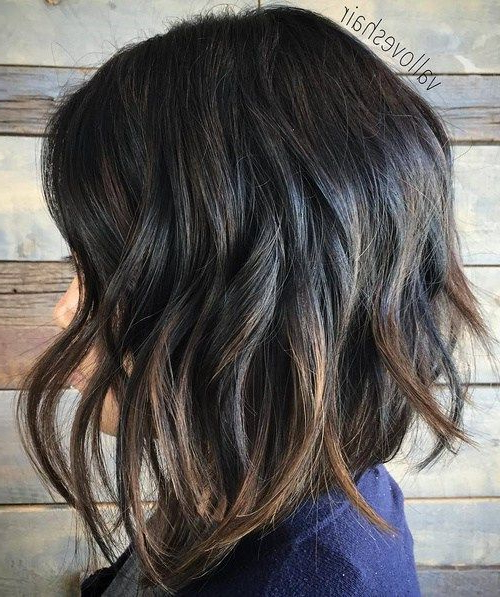 Pin On Beauty Fall Inside Beach Wave Bob Hairstyles With Highlights (View 5 of 25)