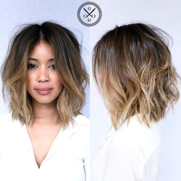 Featured Photo of Ombre Piecey Bob Hairstyles