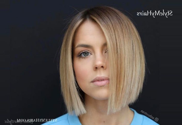 Pin On Bobs with Fun Choppy Bob Hairstyles With A Deep Side Part